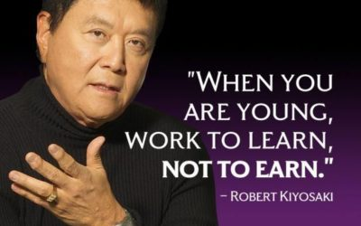 Do You Work To Learn? Or Work To Earn?