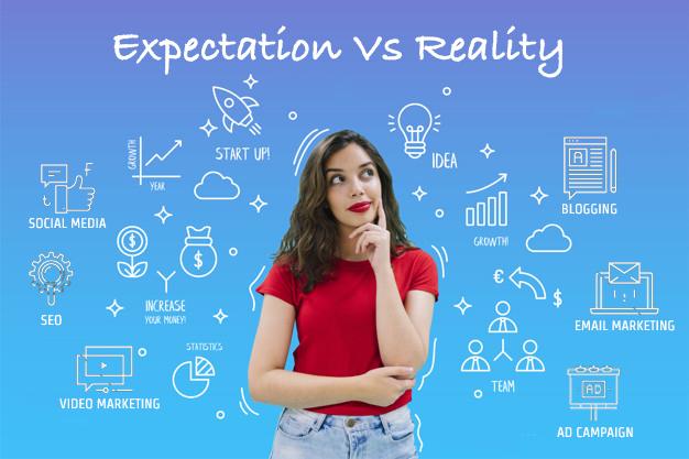 Digital Marketing Expectation vs Reality